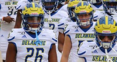 University of Delaware football team.