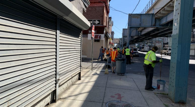 Progress report on 'resilience project' highlights difficulty of cleaning up Kensington .