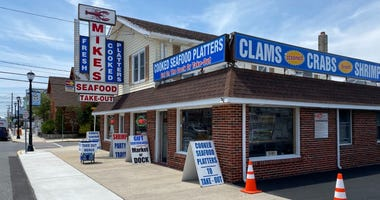 Mike's Seafood and Dock Restaurant in Sea Isle
