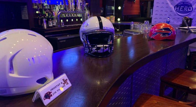Defend Your Head's ProTech football helmet.