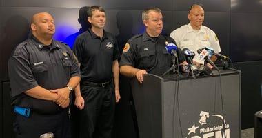 Fire Commissioner Adam Thiel press conference