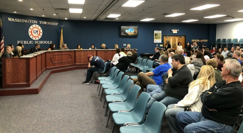 Low levels of mercury emitting from rubber gym floors at several schools in Washington Township, Gloucester County prompted a special school board meeting to address safety concerns.