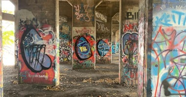 Pier 18 in Port Richmond, commonly known as Graffiti Pier, has become an attraction for tourists worldwide.