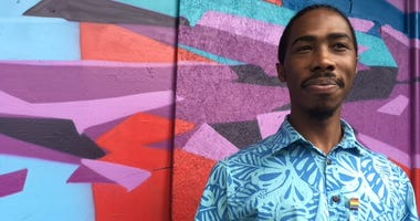 Terrell Green, playwright facilitator for Kensington Sidewalk Stories