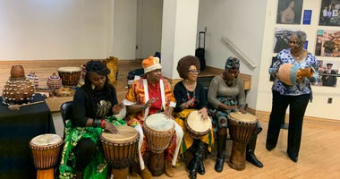 The African American Museum in Philadelphia celebrates Kwanzaa.