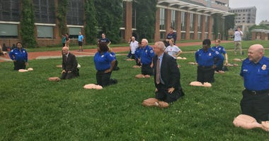 Independence Visitor Center CPR Training
