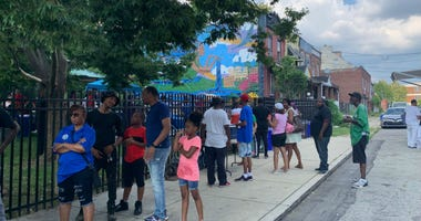 Community party offers healing to West Philly community shaken up by a shooting.