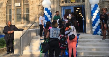 Mastery Prep Elementary School opened up for its first day of classes Thursday.