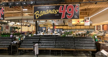 Coronavirus panic buying at Wegmans