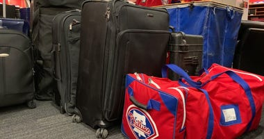 Phillies' equipment.