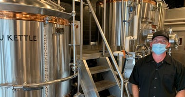 Eric Roberts, general manager of Iron Hill Brewery's Huntingdon Valley location