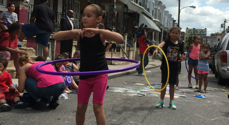 Philly Playstreets allows residents to apply for a permit to block one-way streets so kids in neighborhoods short on open space have somewhere to play safely.