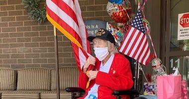 Catherine Chapman celebrating 100th birthday