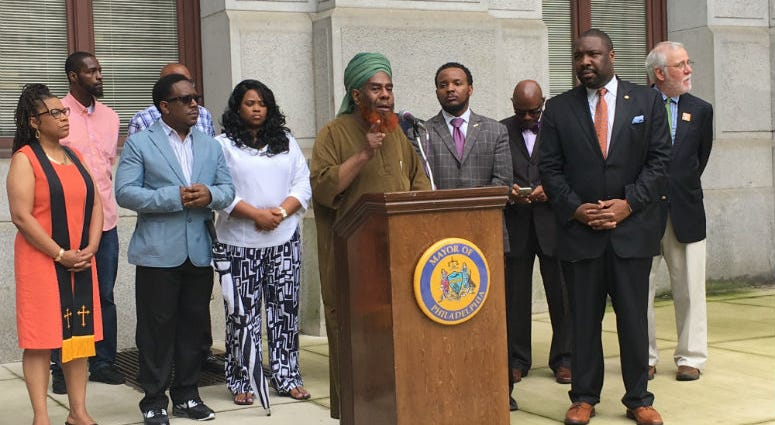 Kenyatta Johnson/ Nat'l Gun Violence Awareness Month