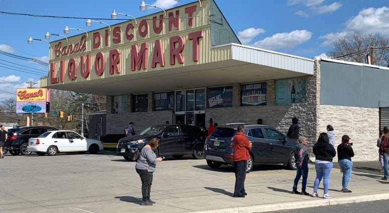 Canal's Discount Liquor Mart in South Jersey.