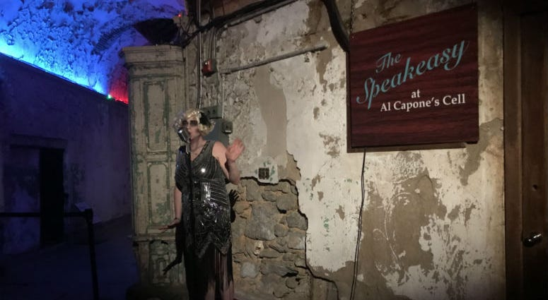 The Speakeasy at Al Capone's Cell