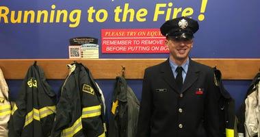 Joseph Rippert, who was named Philadelphia firefighter of the Year.