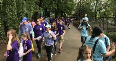 Clarke Schools' second annual Listening Walk