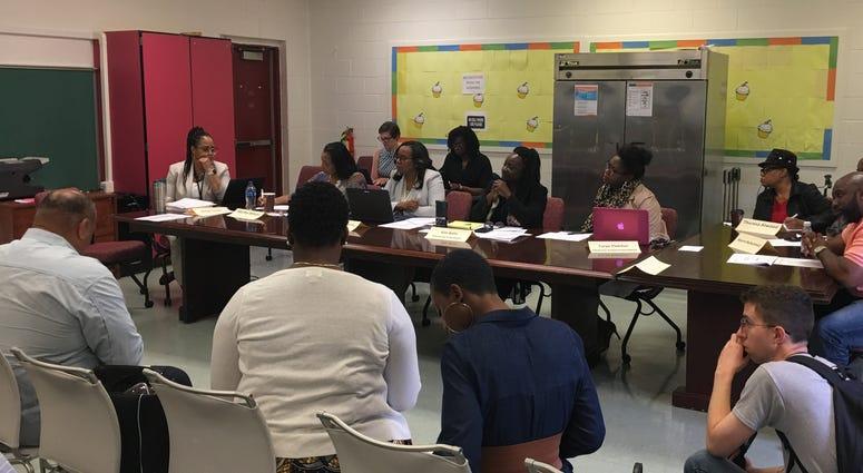 Camden City School District budget meeting