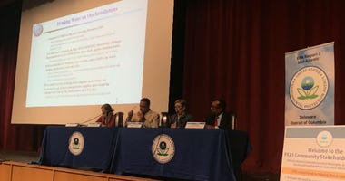 The Environmental Protection Agency is holding an all-day community engagement meeting at Hatboro-Horsham Senior High School to get feedback from a residents who were exposed to chemicals in their drinking water.