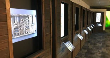 Photo of the  'Forbidden Art' exhibit that is now on display at the National Liberty Museum.
