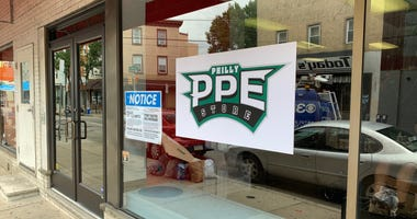 The Philly PPE Store in South Philadelphia opens on Tuesday.