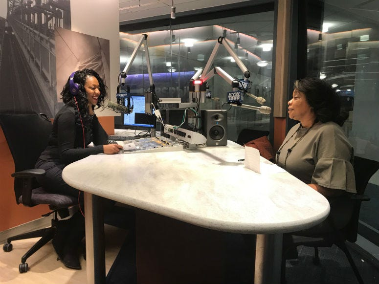 frican American Museum of Philadelphia President and CEO Patricia Wilson Aden.
