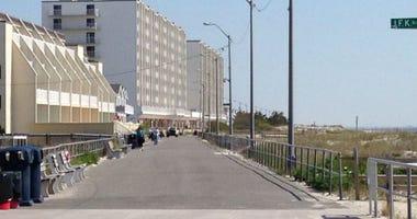 Sea Isle City Promenade.