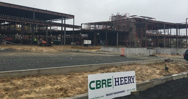 Camden High School rebuild