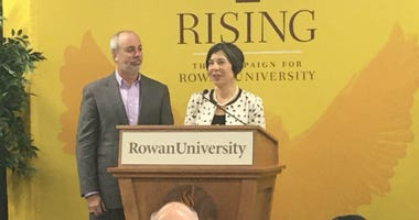 Ric and Jean Edelman at Rowan University.