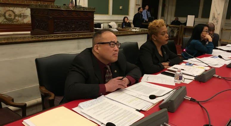 Councilman David Oh.