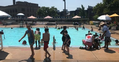 Up until Monday, a few pools still had separate free swim times for boys and girls.