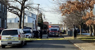 Police are on the scene of a barricade shooting situation.
