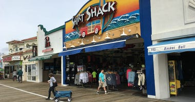 The weather could have been better this holiday weekend, but Jersey shore merchants are generally pleased with the start to their season.