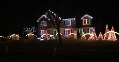 Homemade, high-tech Christmas light shows synced up to music are a big draw. One of the more popular ones in Gilbertsville, Montgomery County is back after a two year break.