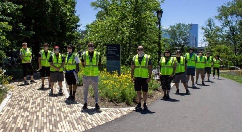Philadelphia Parks and Recreation's social distancing ambassadors