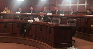 The state Senate Law and Justice Committee met on Tuesday.