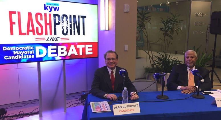 KYW Newsradio Democratic mayoral debate