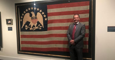 A rare collection of antique flags goes on display Friday at the Museum of the American Revolution.