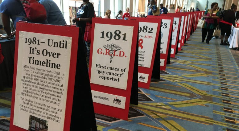 About 1,200 people attended the 24th annual End AIDS: HIV Prevention and Outreach Summit at the Pennsylvania Convention Center.