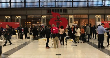 The American Heart Association conference, held in Philadelphia this year.