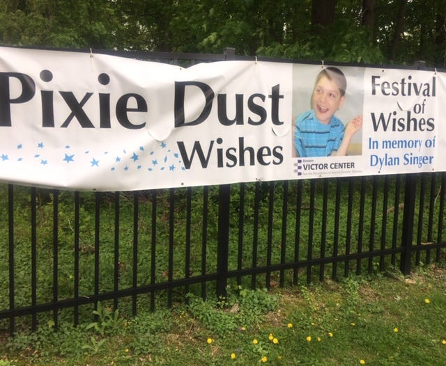 Pixie Dust Wishes Festival was dedicated to Dylan Singer, who died from a rare genetic disorder.