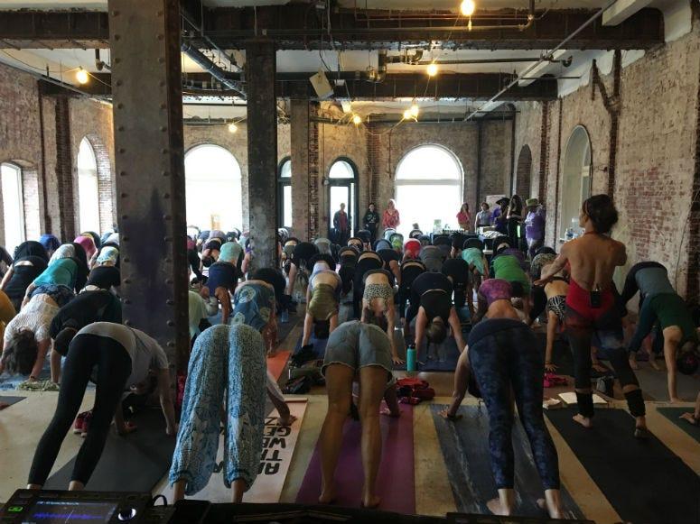 Daybreaker Yoga