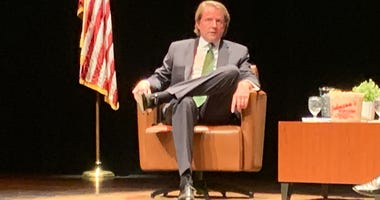 "Stockton University presented an invitation-only ""Conversation with Don McGhan"" on Thursday."