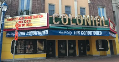 """The Colonial Theatre in Phoenixville has reopened, following new safety guidelines, but its signature """"Blobfest"""" event will be held online this year."""