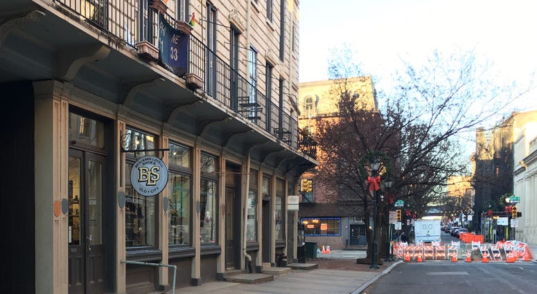 Old City street closures