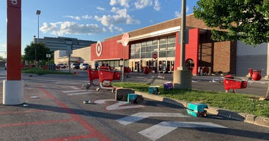 City Avenue Target vandalized and looted