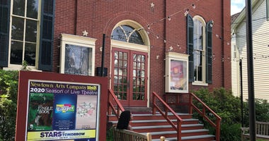 The Newtown Theatre in Bucks County is slowly reopening, renting itself out to small parties.