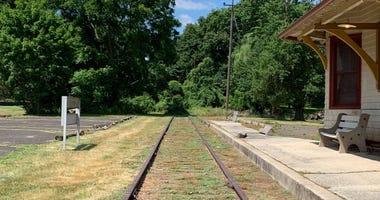 The discontinued SEPTA Churchville Regional Rail station