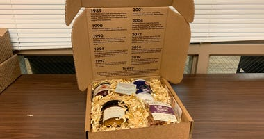 The HOME Warming Gift Boxes are a collaboration between Project HOME and DiBruno Bros.